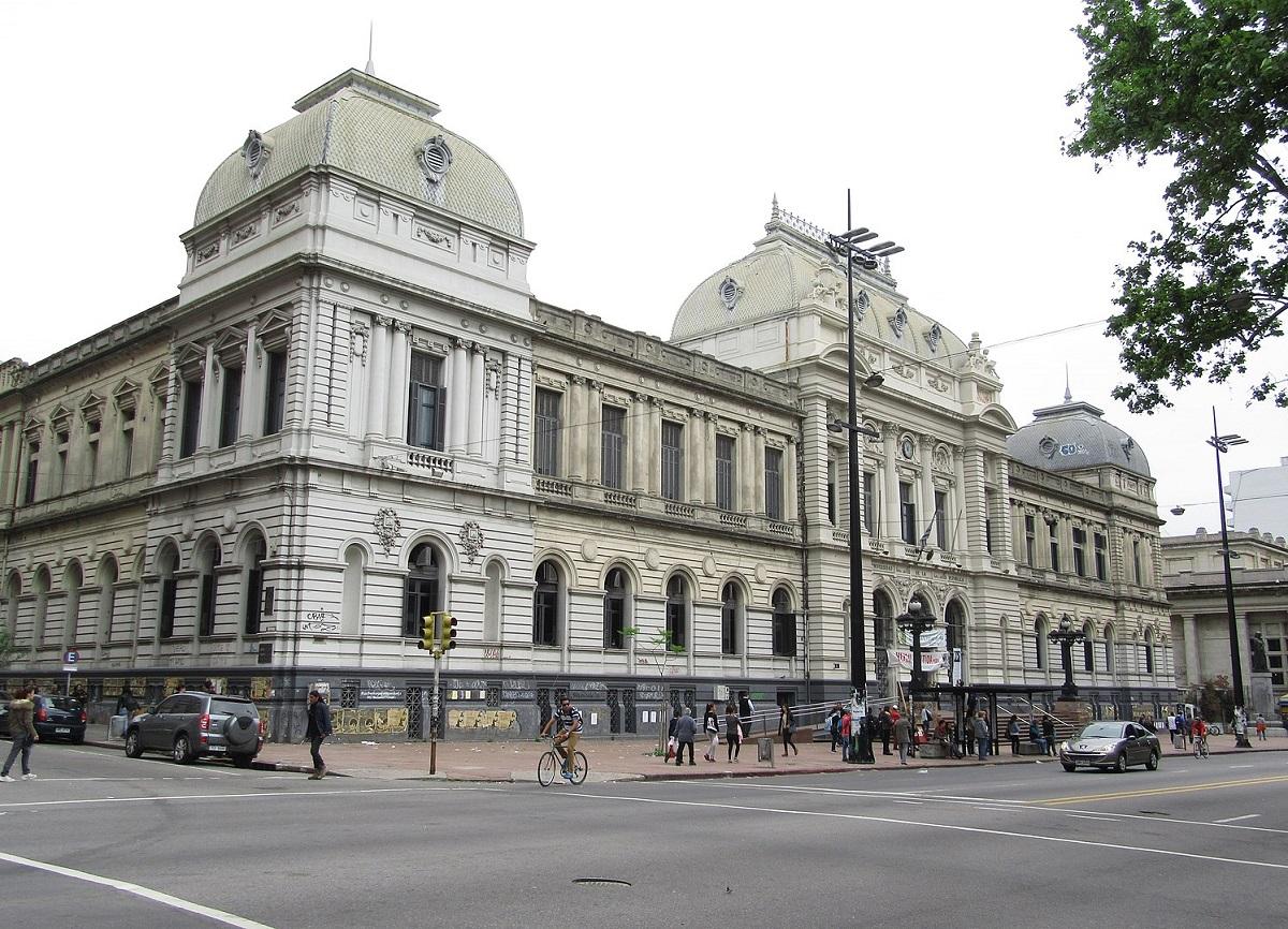 Edificio de la Universidad de la República